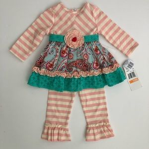 Rare, Too! 2-piece Outfit Size 12 Months